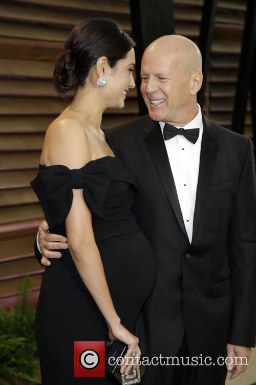 Emma Heming and Bruce Willis 11
