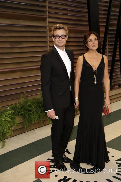 Simon Baker and Rebecca Rigg 4