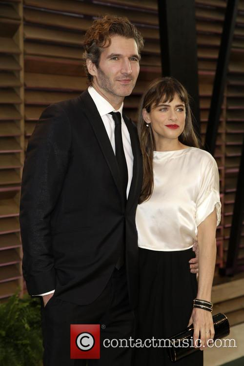 Amanda Peet and David Benioff 2