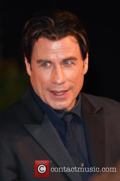 John Travolta Vanity Fair Oscar Party