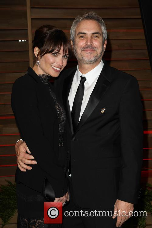 Sheherazade Goldsmith and Alfonso Cuaron 4