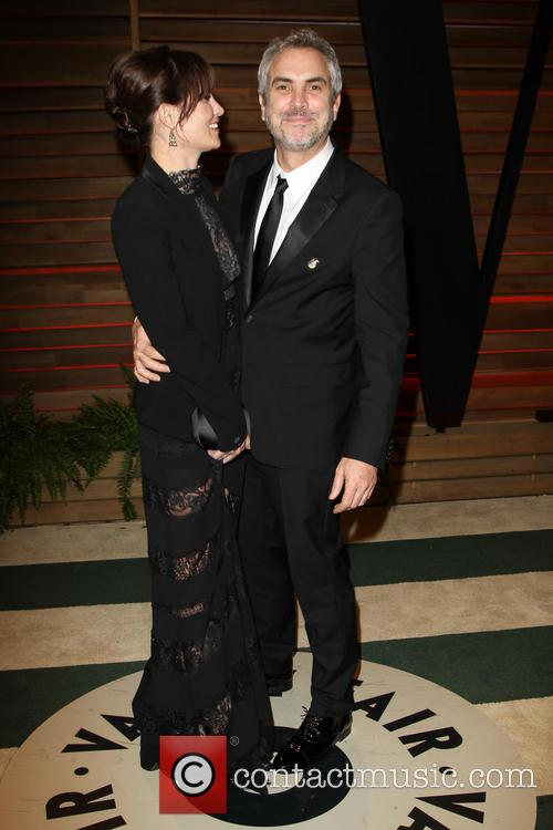 Sheherazade Goldsmith and Alfonso Cuaron 6
