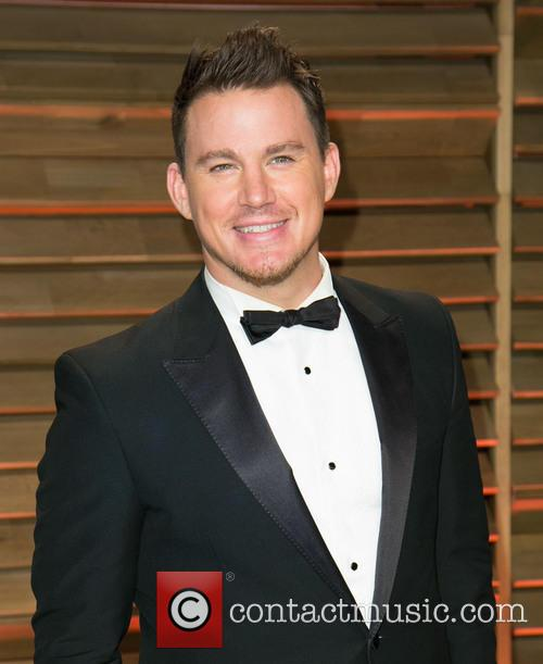 Channing Tatum Vanity Fair Oscars Afterparty