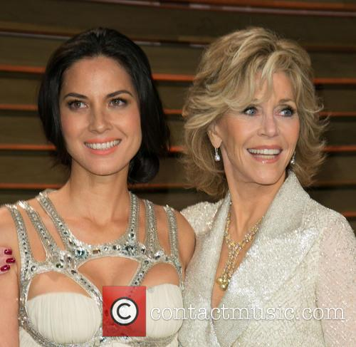 Olivia Munn and Jane Fonda 2