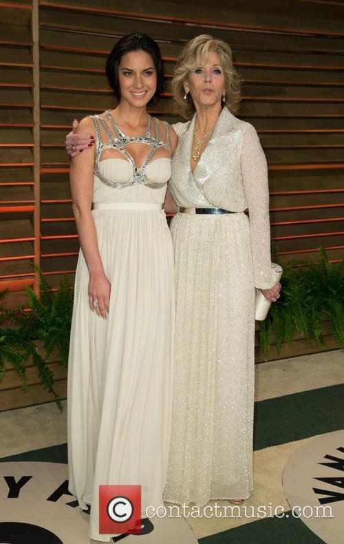 Olivia Munn and Jane Fonda 6