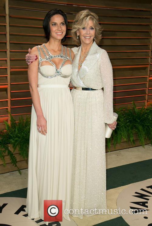Olivia Munn and Jane Fonda 1