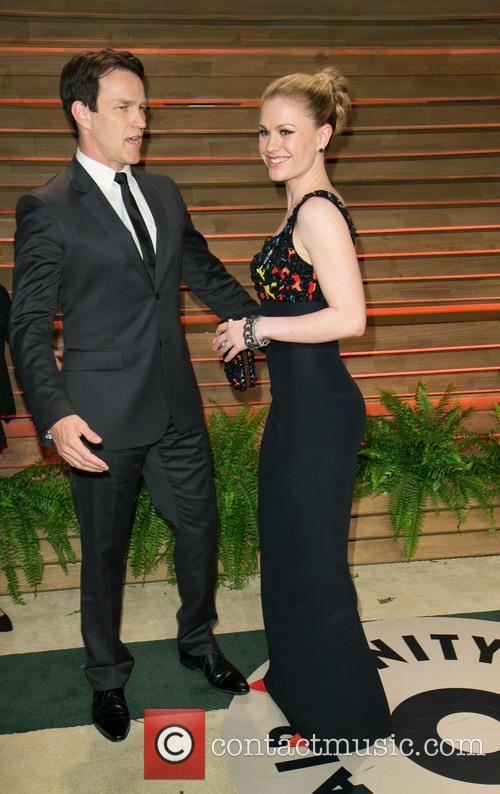 Stephen Moyer and Anna Paquin 6