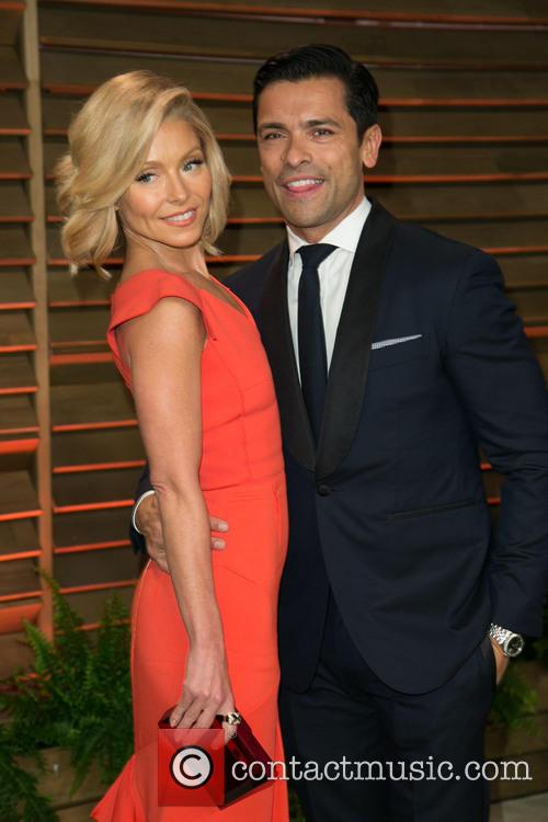 Kelly Ripa, Mark Consuelos, Sunset Plaza