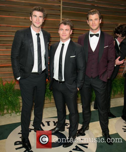Liam Hemsworth, Luke Hemsworth and Chris Hemsworth 1