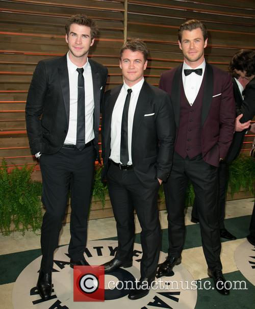Liam Hemsworth, Luke Hemsworth and Chris Hemsworth 3