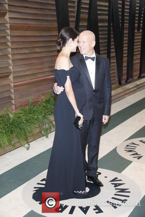 Bruce Willis and Emma Heming 2