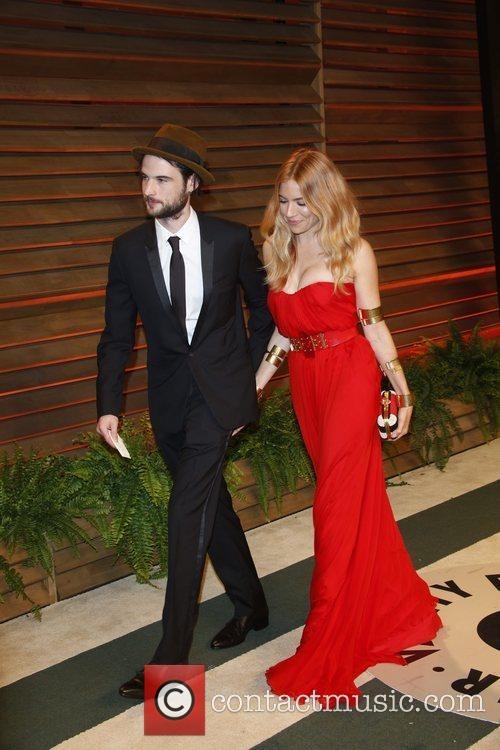 Sienna Miller and Tom Sturridge 1