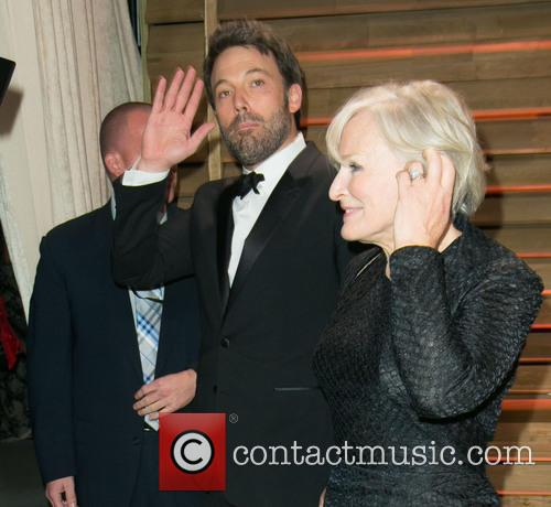 Ben Affleck, Glenn Close, Sunset Plaza