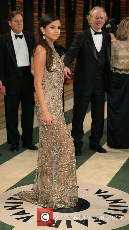 Selena Gomez, Bill Murray, Sunset Plaza