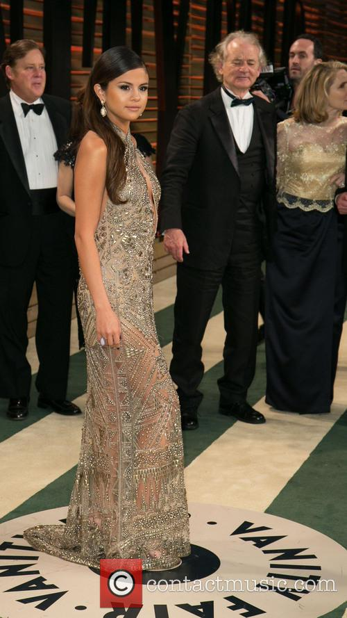 Selena Gomez and Bill Murray 6