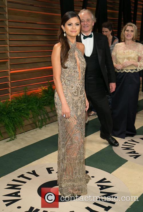 Selena Gomez and Bill Murray 9