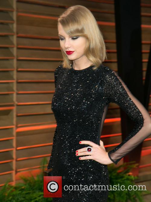 Taylor Swift, Vanity Fair Oscar Party