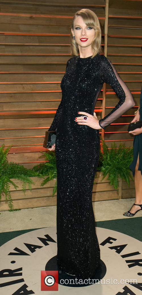 Taylor Swift at the Vanity Fair party
