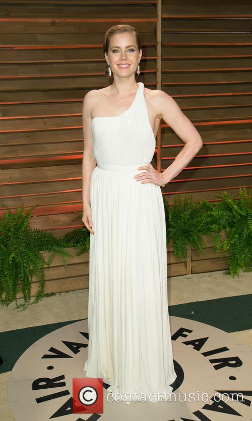 Amy Adams at the Vanity fair post oscars party
