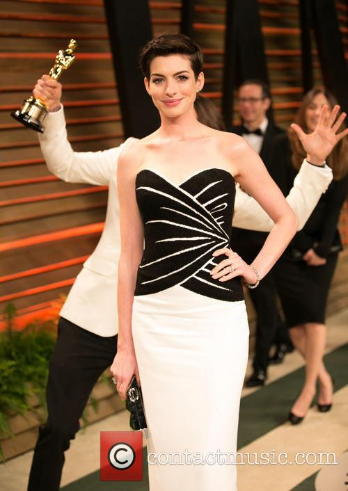 Jared Leto and Anne Hathaway 5