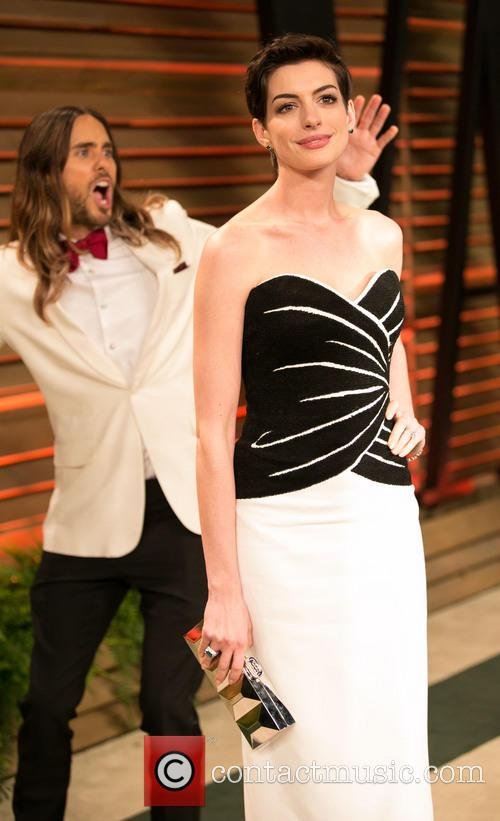 Jared Leto and Anne Hathaway 8