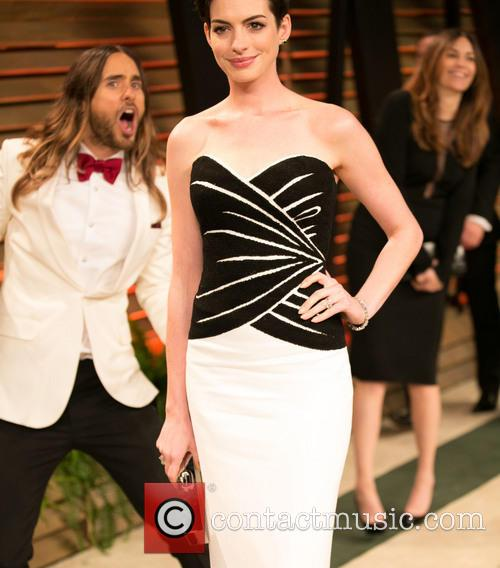 Jared Leto and Anne Hathaway 1