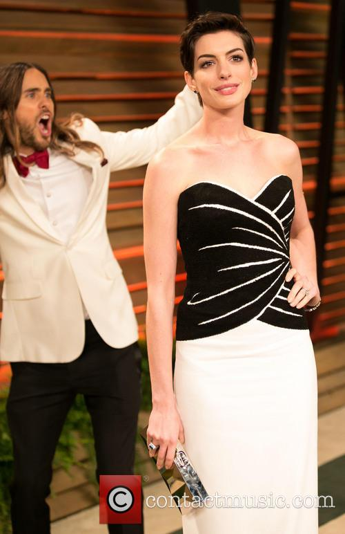 Jared Leto and Anne Hathaway 6