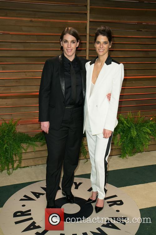 megan ellison guest 2014 vanity fair oscar party 4095683