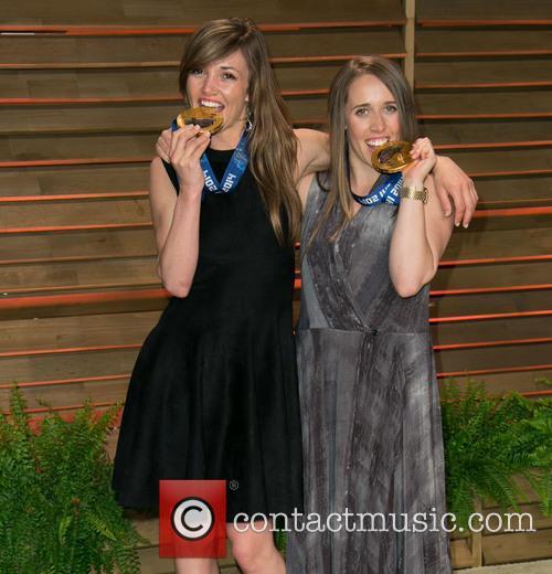 Mikaela Shiffrin and Maddie Bowman 2