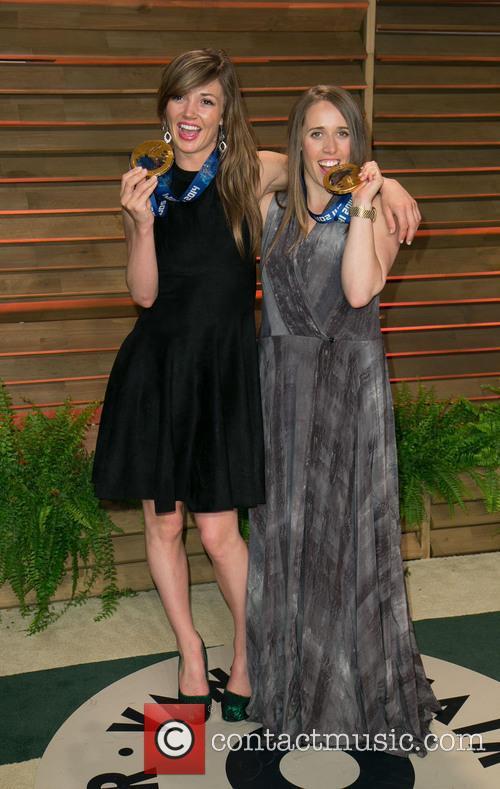 Mikaela Shiffrin and Maddie Bowman