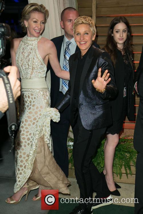Portia de Rossi, Ellen DeGeneres, Sunset Plaza