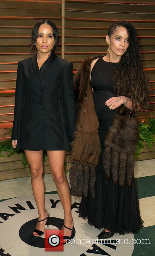 Zoe Kravitz and Lisa Bonet 1
