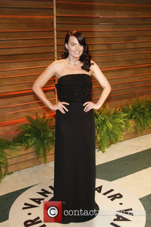 Celebrities attend 2014 Vanity Fair Oscar Party at Sunset Plaza.