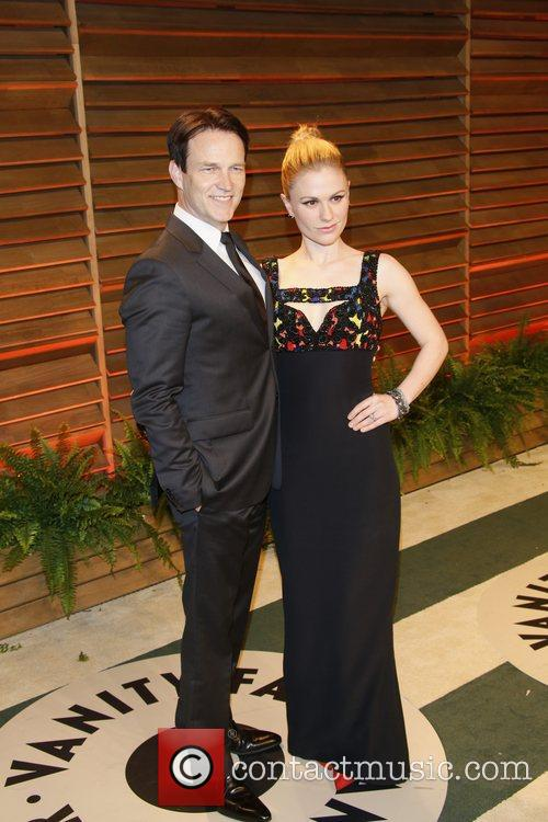 Stephen Moyer and Anna Paquin 9