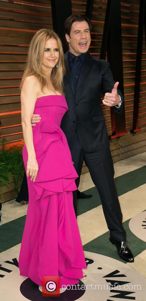 Kelly Preston and John Travolta 9