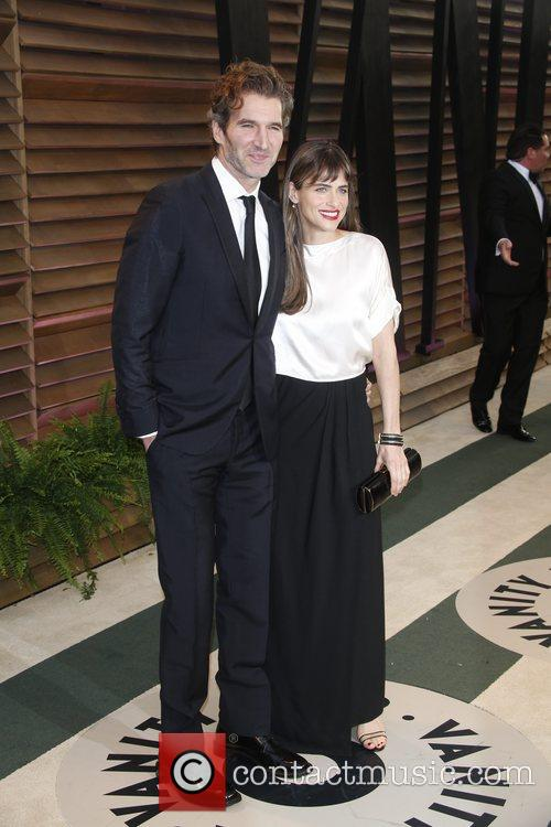 Amanda Peet and David Benioff 6
