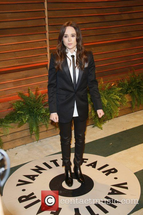Ellen Page at the Vanity fair Party