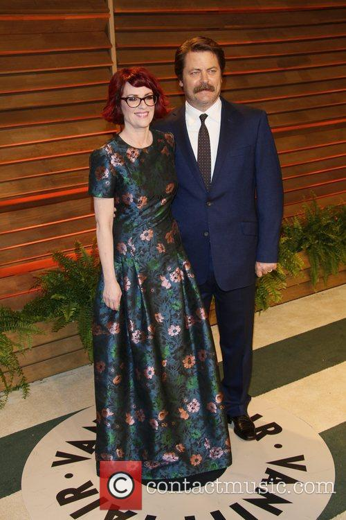 Megan Mulally and Nick Offerman 2