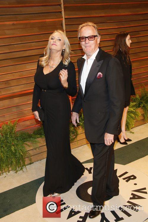 Peter Fonda, wife Margaret DeVogelaere