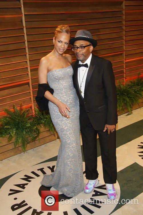 Tonya Lewis Lee and Spike Lee 10