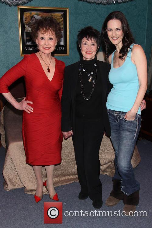 Carol Lawrence, Chita Rivera and Charlotte Cohn 4