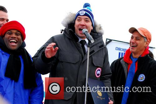 Jimmy Fallon and Rahm Emanuel 2