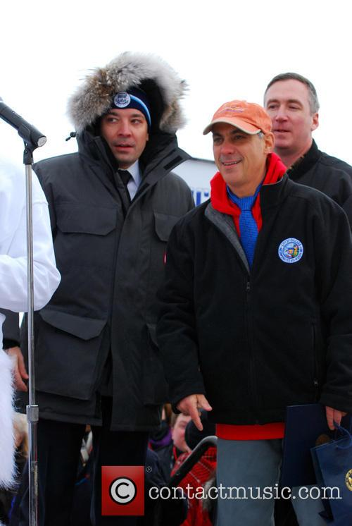 Jimmy Fallon and Rahm Emanuel 3