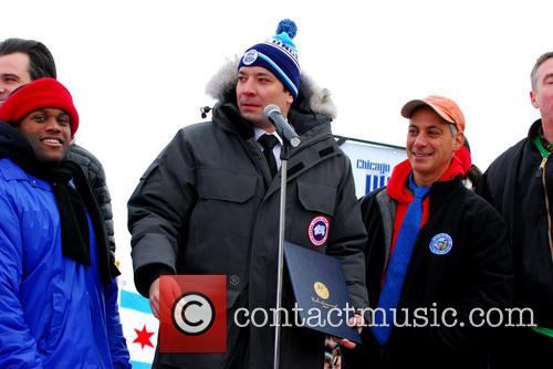 Jimmy Fallon and Rahm Emanuel 4