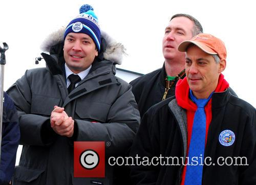 Jimmy Fallon and Rahm Emanuel 6