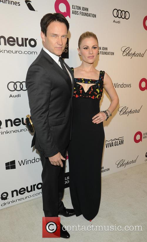 Stephen Moyer, Anna Paquin and Elton John 6
