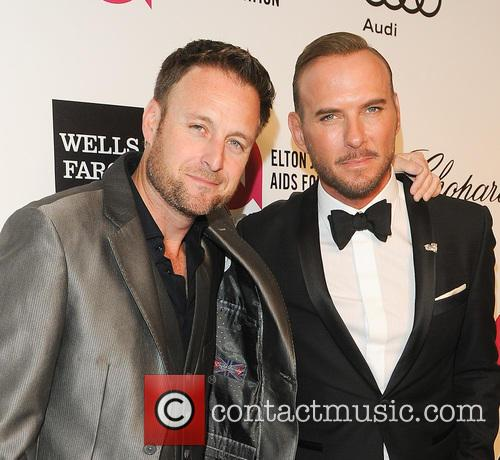 Matt Goss, Chris Harrison and Elton John 2