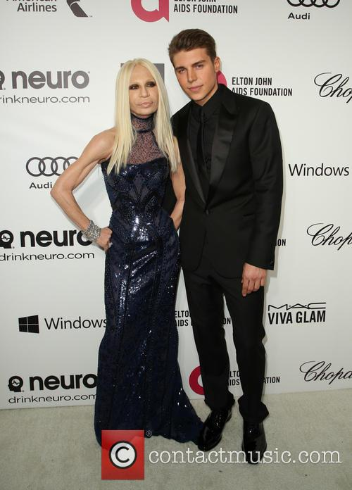 Donatella Versace and Nolan Gerard Funk 10