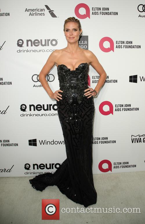 Heidi Klum, Pacific Design Center, Academy Awards