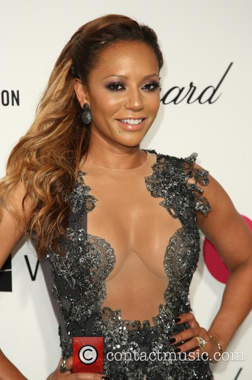 melanie brown 22nd annual elton john aids 4095504